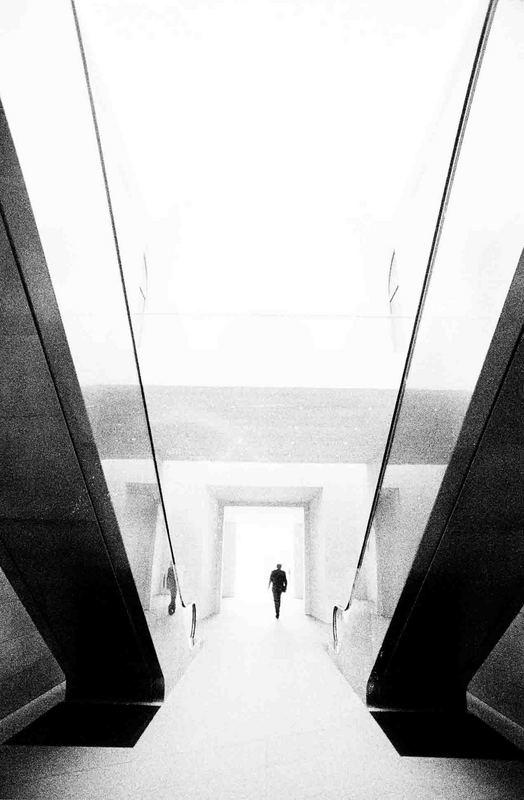 Deutsches Historisches Museum - man walking to ?