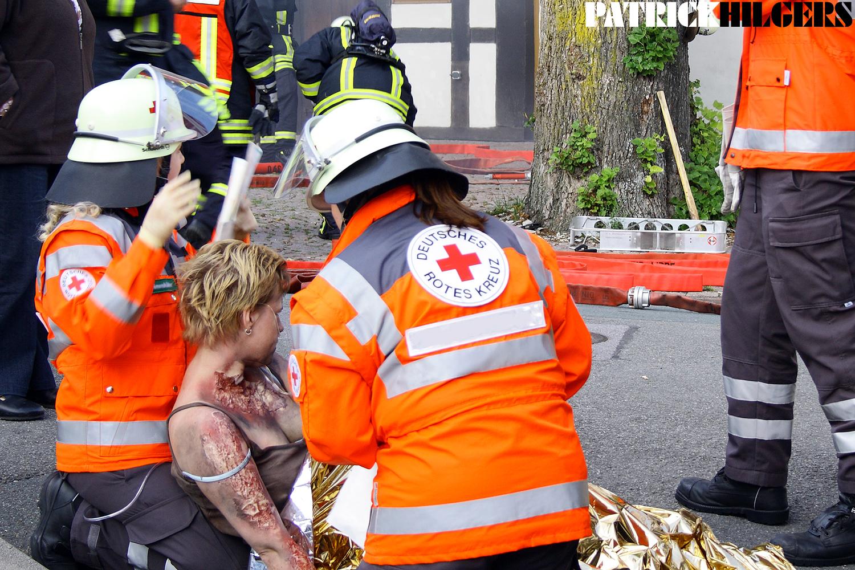 Deutsches Rotes Kreuz im Einsatz