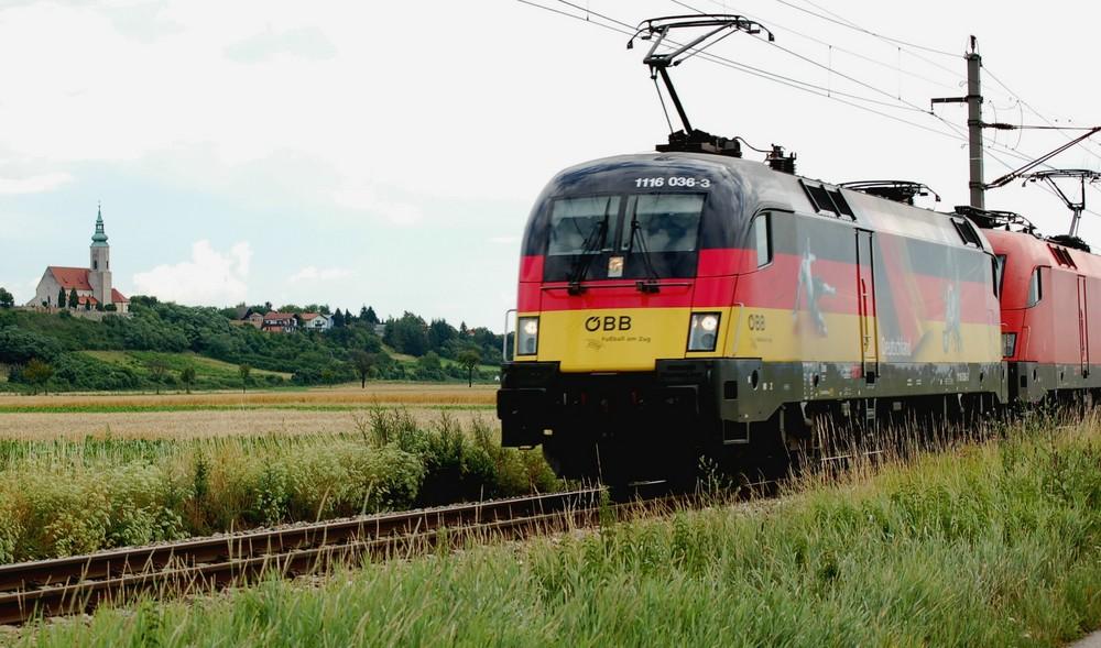 Deutschland EM-Taurus der ÖBB