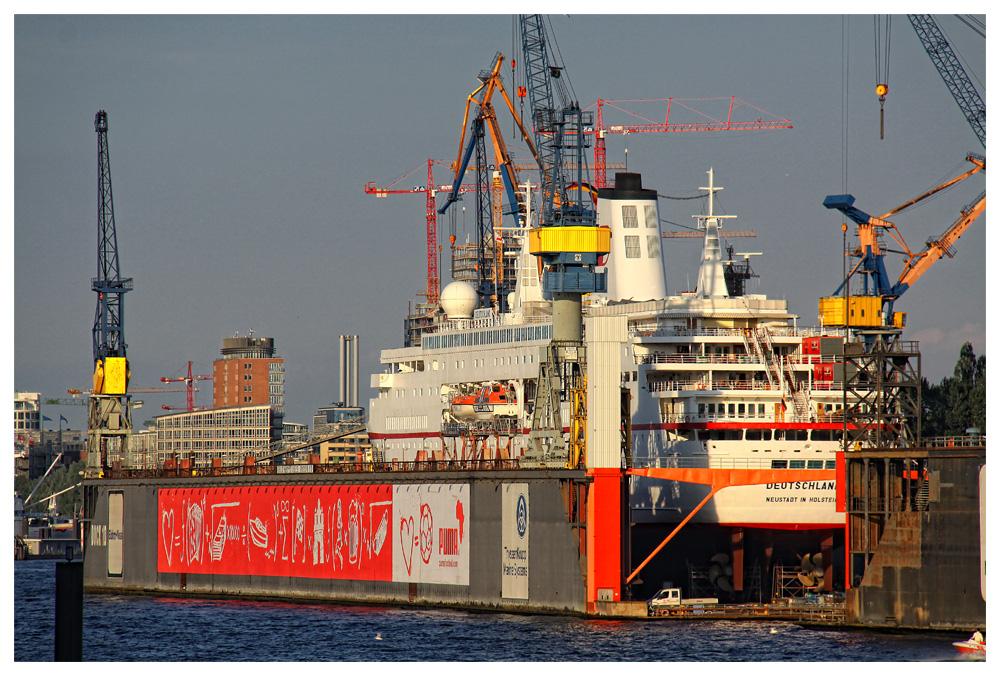 Deutschland im Dock