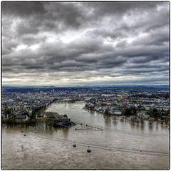 Deutschland im Quadrat - Hochwasser