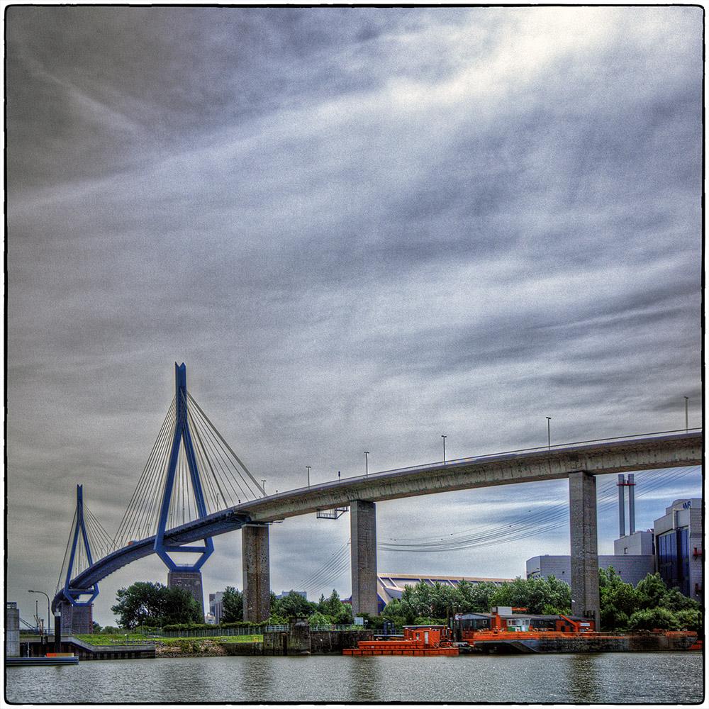 Deutschland im Quadrat - Köhlbrandbrücke