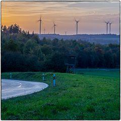 Deutschland im Quadrat - Windräder