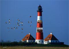 Deutschlands bekanntester Leuchtturm - transparent