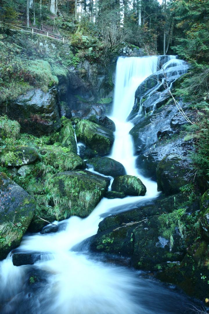 Deutschlands höchster Wasserfall in Triberg