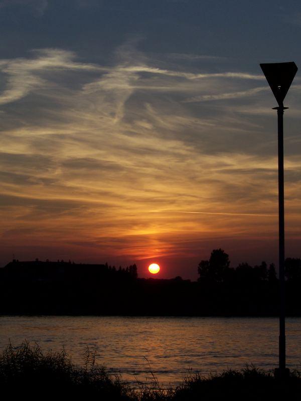 Deventer sunset / die zweite