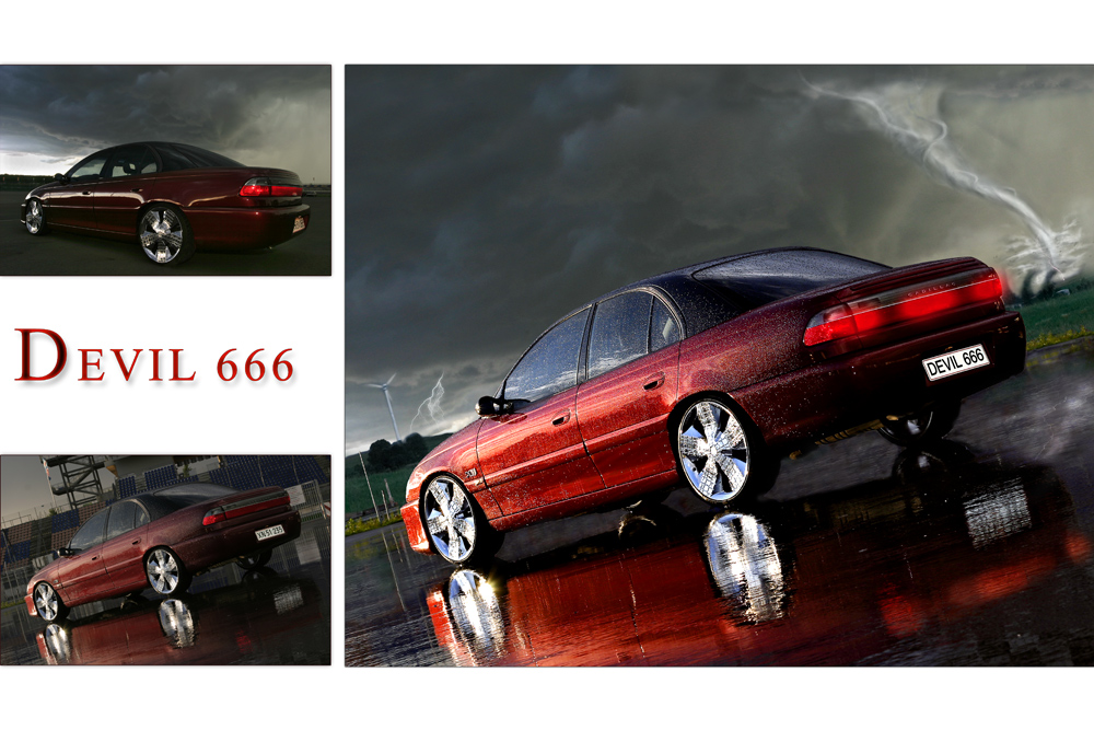 devil on the road