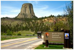 Devils Tower, Wyoming....