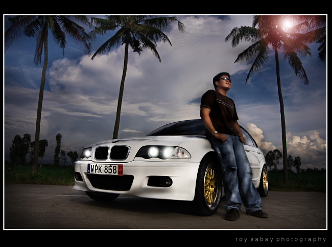 dexter and his bimmer