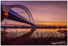 Dezembermorgen an der Elbe