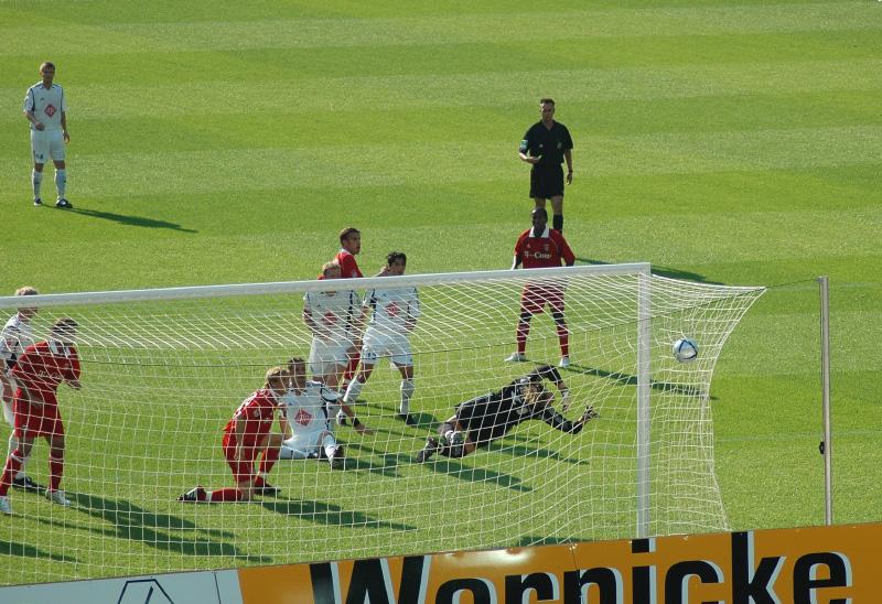 DFB Pokal Neuruppin - FC Bayern München Tor zum 0:1