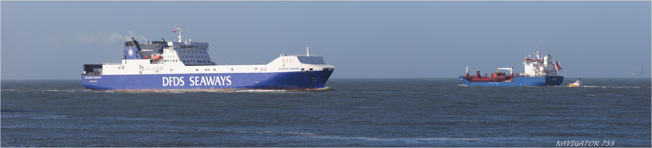 DFDS  inbound Rotterdam.