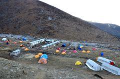 Dharamsala (4470 m) am Abend