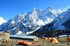 Dharamsala (4470 m) in der Manaslu-Region