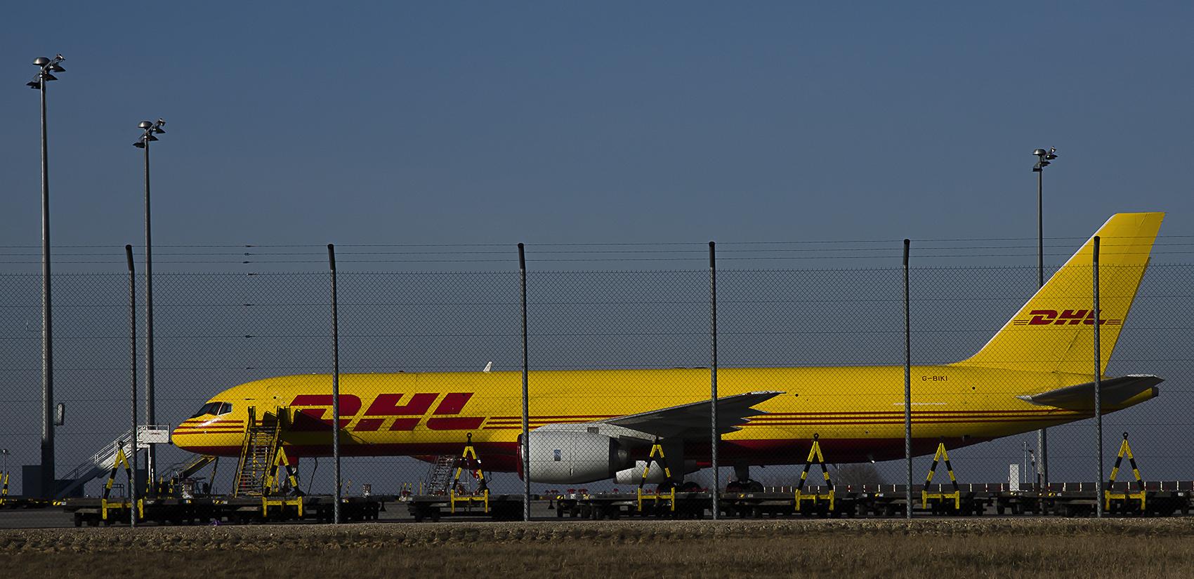 Dhl Hub Leipzig Foto Bild Luftfahrt Cargomaschinen Verkehr