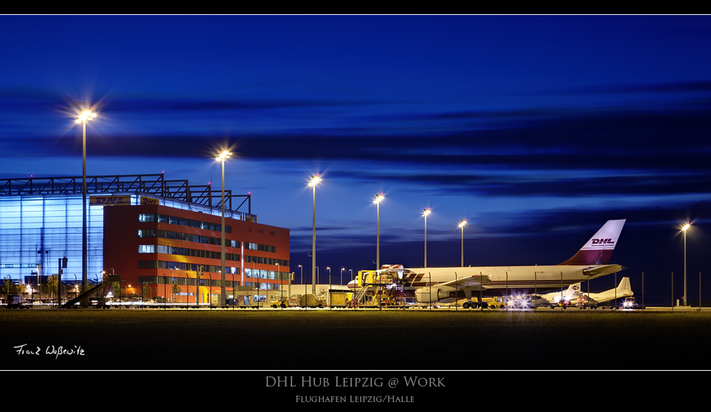 Dhl Hub Leipzig At Work Foto Bild Industrie Und Technik