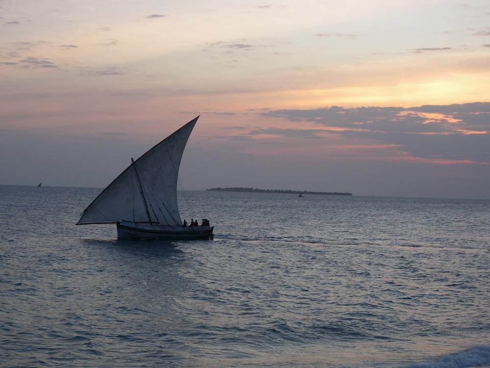 Dhow at Zanzibar