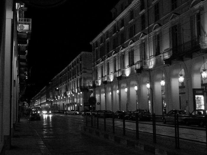 ...di notte...