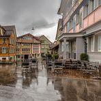 Dia lluvioso en Appenzell