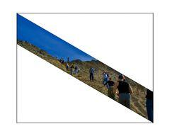Diagonal Strip (aus der Wüste)