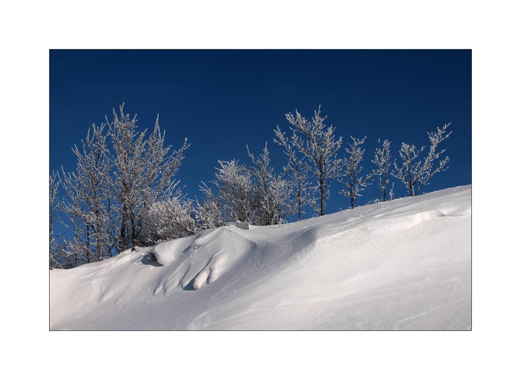 diagonale Winterfreuden