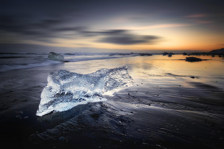 Diamant aus Eis