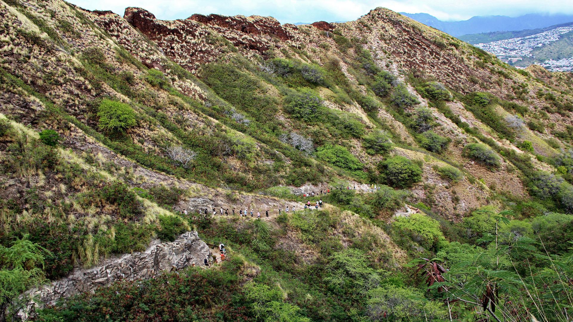 Diamond Head Summit Trail
