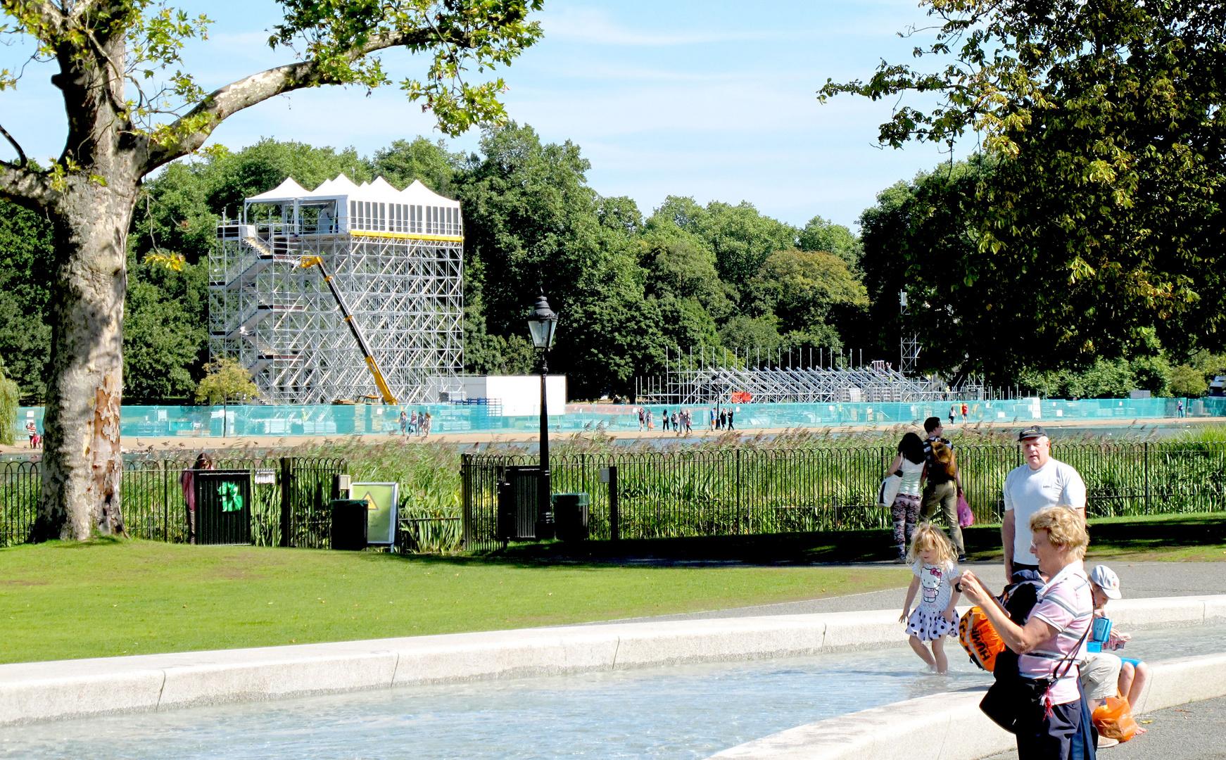 Diana Memorial Fountain ..