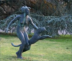 Diana mit Panther