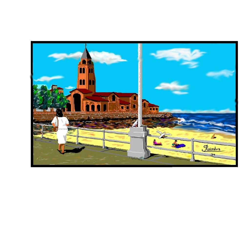 Dibujado con el PC, Paint y retocado  (Gijón)