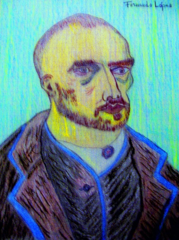 Dibujando a Vincent...FERNANDO LÓPEZ   fOTOGRAFÍAS...