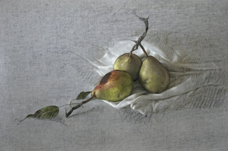 dibujo peras