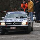 & Dick-Benz im Winter...