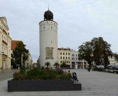 Dicker Turm am Marienplatz/ Görlitz