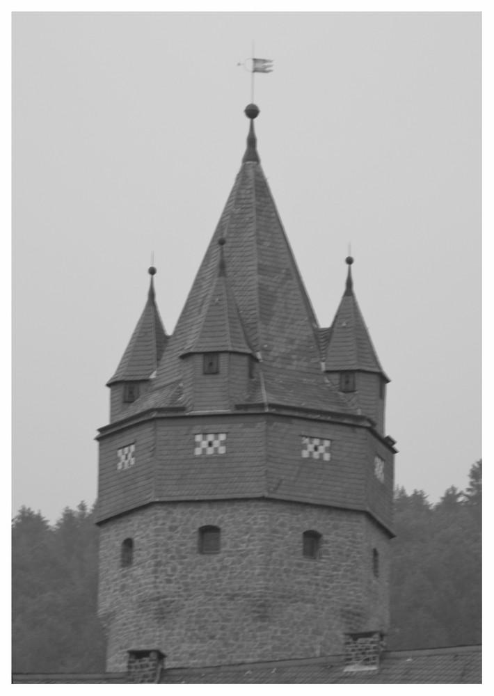 Dicker Turm von der Burg Altena