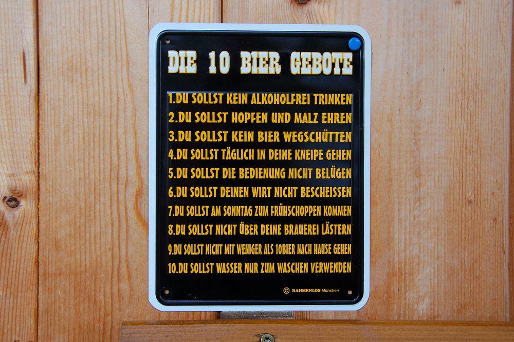 Die Ursprünglichen 10 Gebote