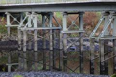 Die 2. Brücke unterhalb....