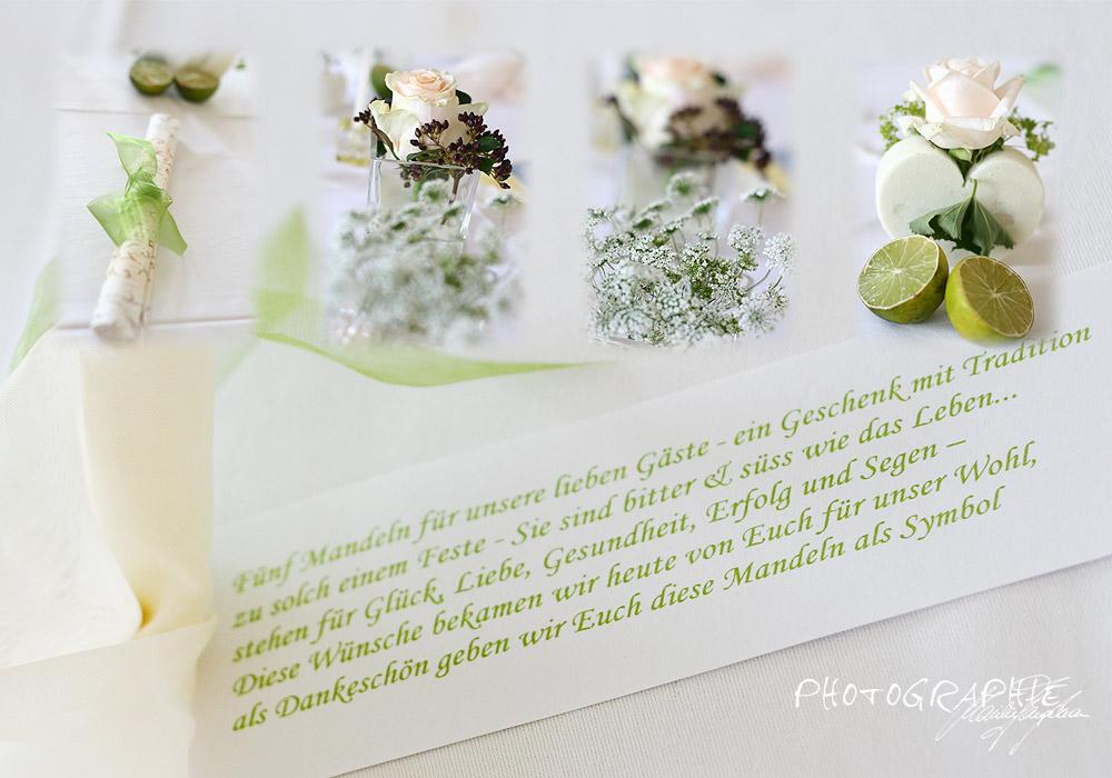 Die 5 Mandeln für die lieben Gäste