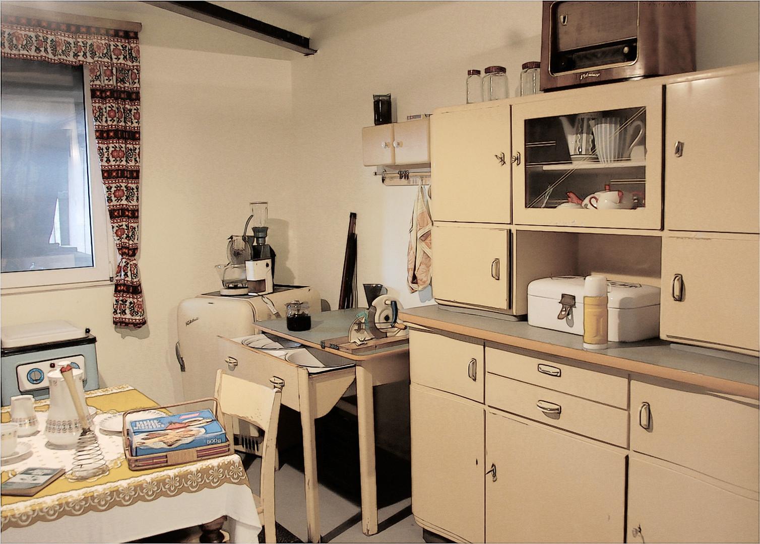 die 50er und 60er Jahre Foto & Bild | brandenburg, küche ...