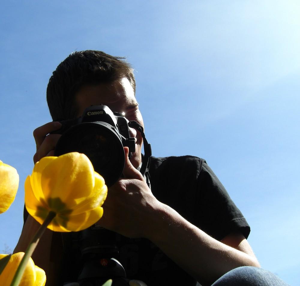 ...die Absurdität einen Fotografen zu fotografieren...
