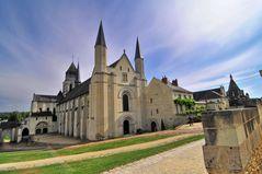 Die Abtei von FONTEVRAUD