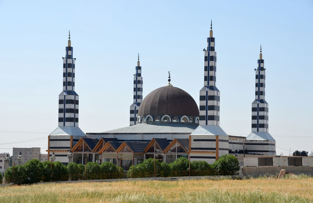 Die Abu-Darwish-Moschee auf dem höchsten Punkt von Amman