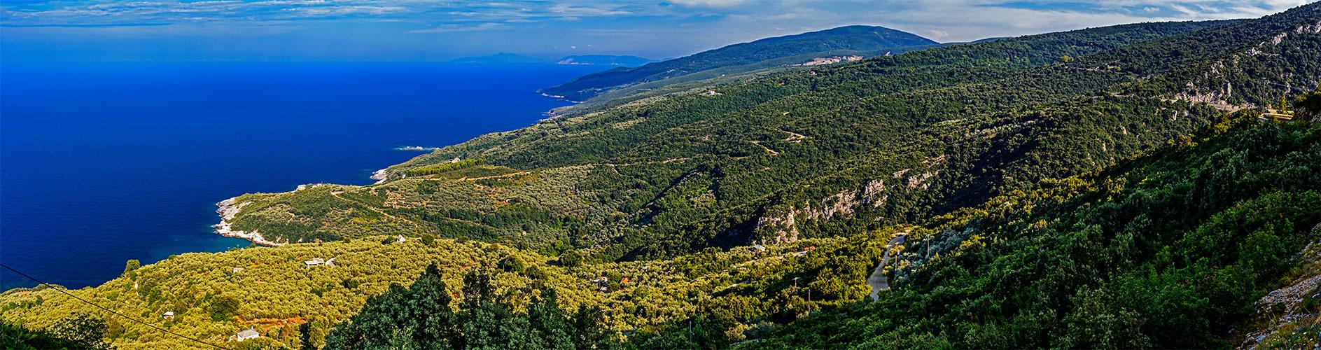 Die ägaische Ostseite des Pilion