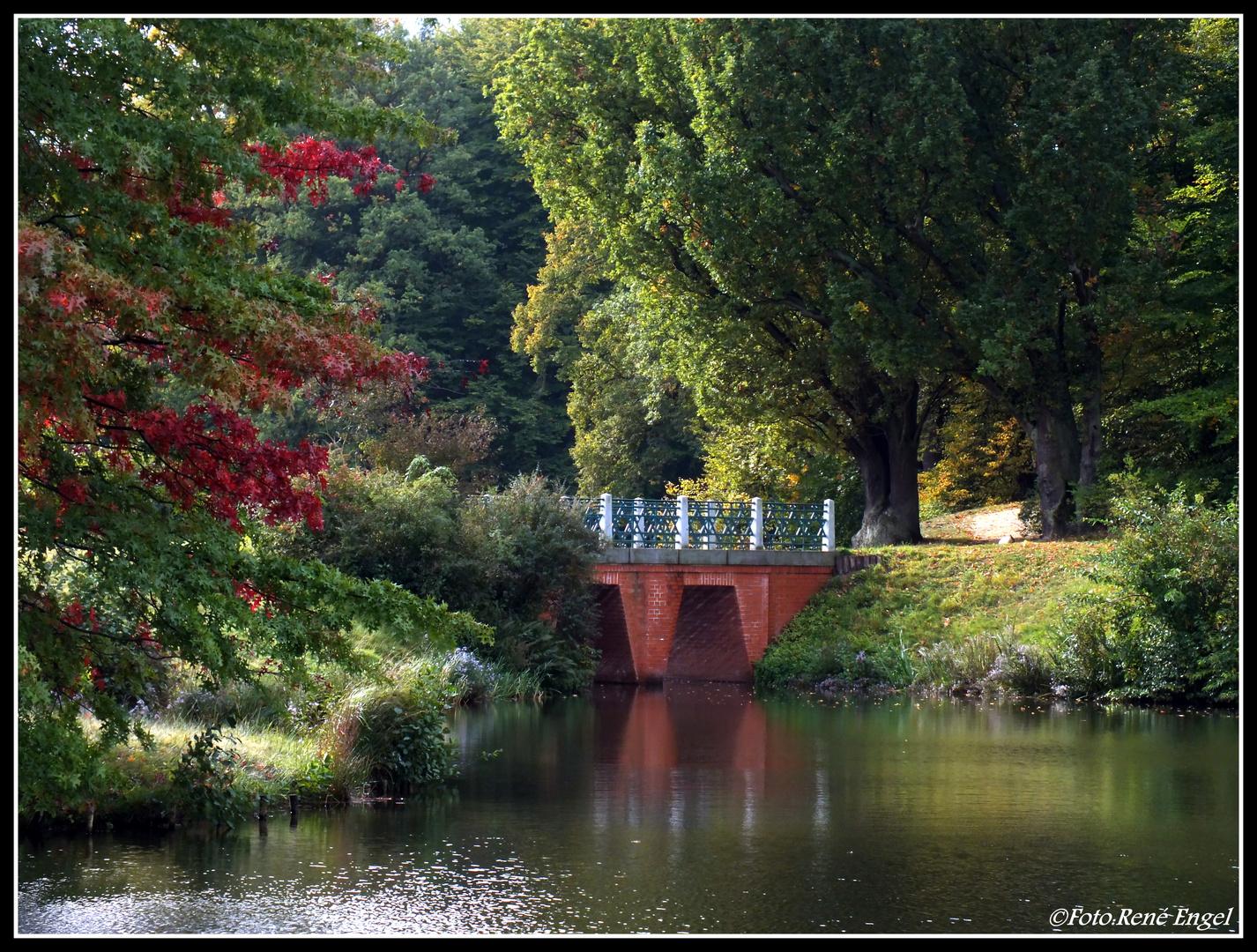 Die Ägyptische Brücke im Branitzer Park