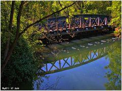 Die älteste württembergische Eisenbahnbrücke