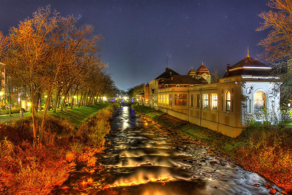 Die Ahr in Bad Neuenahr
