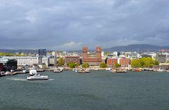 Die AIDAdiva verlässt Oslo