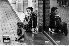 die Akkordeonspielerin von der Istiklal Straße
