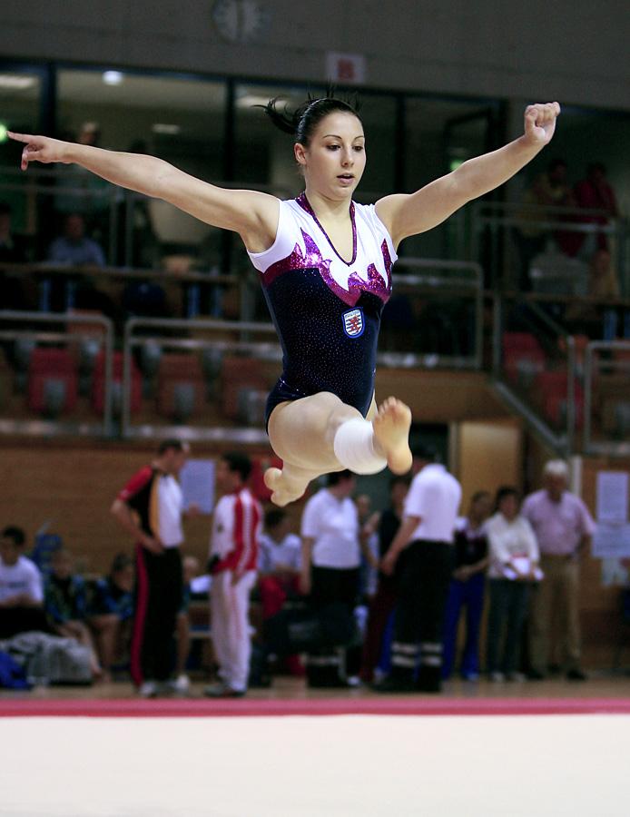 Die Akrobatin