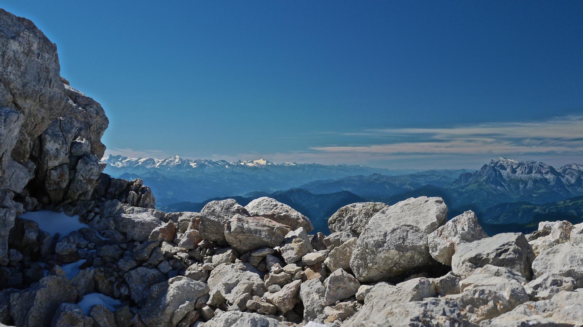 ...die Alpen